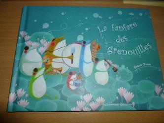La fanfare des grenouilles - Balivernes - Les lectures de Liyah