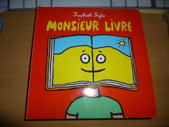 Monsieur livre - EDL - Les lectures de Liyah
