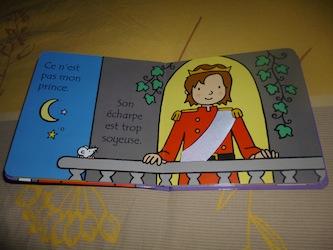 Ou est mon prince 1 - Usborne - Les lectures de Liyah