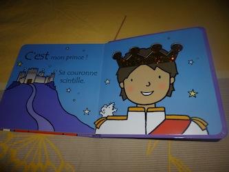 Ou est mon prince 2 - Usborne - Les lectures de Liyah