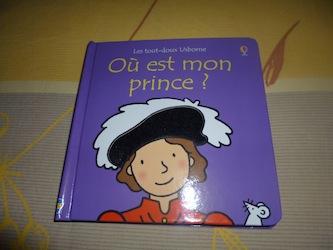 Ou est mon prince - Usborne - Les lectures de Liyah
