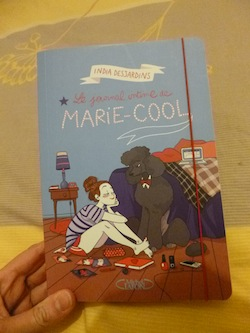 Le journal intime de Marie Cool - Michel Lafon - Les lectures de Liyah