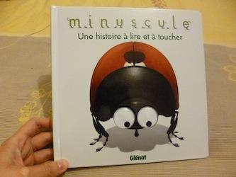 Minuscule A toucher - Glenat - Les lectures de Liyah