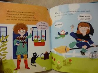 Anglais pour petit avec Jenny et jack 1 - Nathan - Les lectures de Liyah