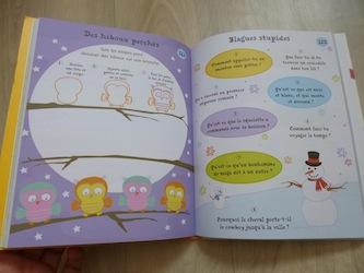 Cahier d'activités de voyage 1 - Usborne - Les lectures de Liyah