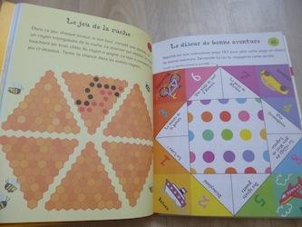 Cahier d'activités de voyage 2 - Usborne - Les lectures de Liyah