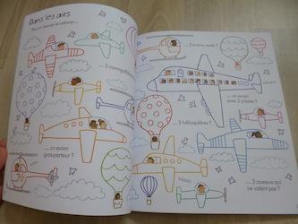 Cahier de jeux de voyage pour les petits 1 - Usborne - Les lectures de Liyah