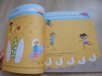 Cahier de jeux de voyage pour les petits 2 - Usborne - Les lectures de Liyah