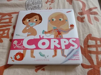 Le corps - Larousse - Les lectures de Liyah