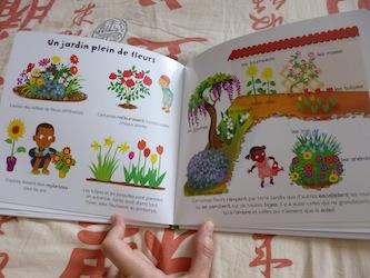 Le jardin 1 - Larousse - Les lectures de Liyah