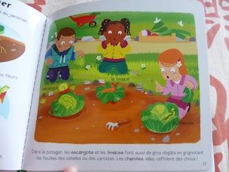 Le jardin 2 - Larousse - Les lectures de Liyah