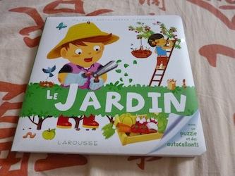 Le jardin - Larousse - Les lectures de Liyah