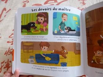 Les animaux domestiques 2 - Larousse - Les lectures de Liyah