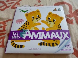 Les bebes Animaux - Larousse - Les lectures de Liyah