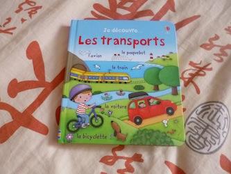 Les transports - Usborne - Les lectures de Liyah