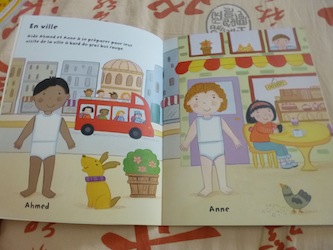 Les vacances 1 - Usborne - Les lectures de Liyah