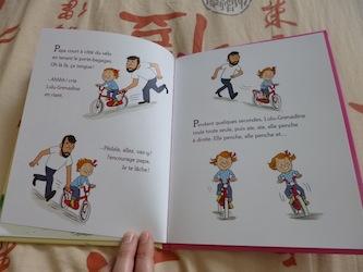 Lulu Grenadine fait du vélo 2 - Nathan - Les lectures de Liyah