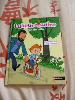 Lulu Grenadine fait du vélo - Nathan - Les lectures de Liyah