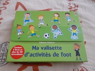 Ma valisette d'activités foot - Usborne - Les lectures de Liyah