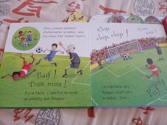 Match de foot 1 - Usborne - Les lectures de Liyah