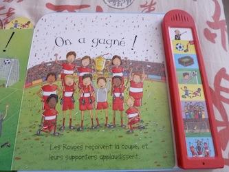 Match de foot 2 - Usborne - Les lectures de Liyah