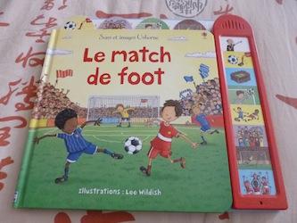 Match de foot - Usborne - Les lectures de Liyah