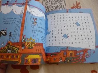 Mini livre pirates 1 - Usborne - Les lectures de Liyah