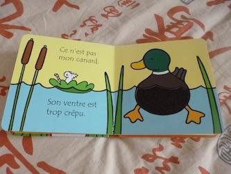 Ou est mon canard 1 - Usborne - Les lectures de Liyah