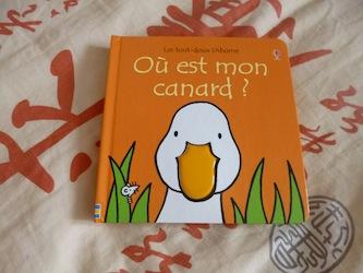Ou est mon canard - Usborne - Les lectures de Liyah