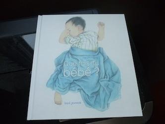 Que fais tu bébé - Seuil - Les lectures de Liyah