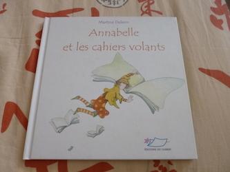 Annabelle et les cahiers volants - Jasmin - Les lectures de Liyah