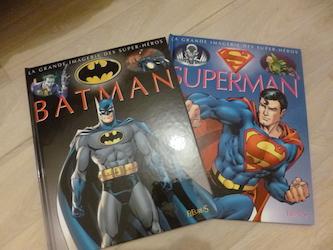 Batman Superman - Fleurus - Les lectures de Liyah