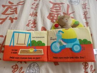 La journée de petit ours 1 - Tourbillon - Les lectures de Liyah