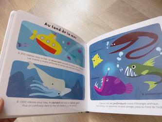 La mer 1 - Larousse - Les lectures de Liyah