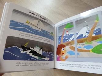 La mer 2 - Larousse - Les lectures de Liyah
