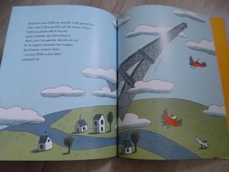 La tour eiffel a des ailes 2 - Nathan - Les lectures de Liyah