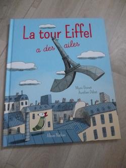 La tour eiffel a des ailes - Nathan - Les lectures de Liyah