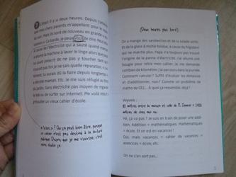 Le cahier de mes vacances nulles 1 - Flammarion - Les lectures de Liyah