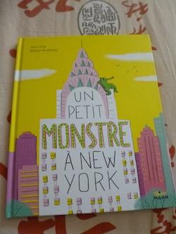 Un petit monstre a NY - Milan - Les Lectures de Liyah