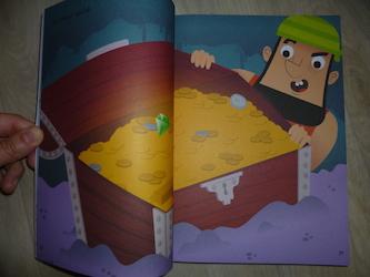 1000 autocollants pirates 1 - Usborne - Les lectures de Liyah