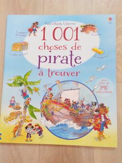 Livres d'Activités 1001 choses de pirate à trouver - Usborne - Les lectures de Liyah