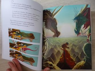 Album Jeunesse Charles a l'ecole des dragons Cousseau et Turin