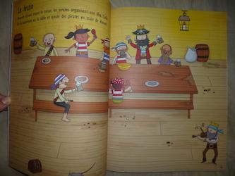 Coloriages et autocollants Pirates 1 - Usborne - Les lectures de Liyah