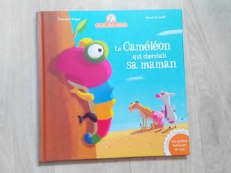 Album jeunesse Le caméléon qui cherchait sa maman 1