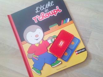 Album jeunesse L'ecole de T'choupi