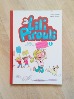 Bande dessinée jeunesse Lili Pirouli