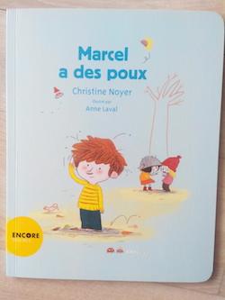 Album jeunesse Marcel a des poux 1