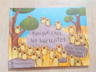 Album jeunesse Panique chez les suricates - Balivernes - Les lectures de Liyah