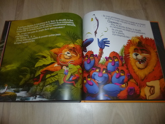 Album jeunesse Le roi de la jungle 2