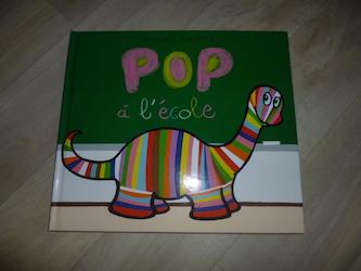 Album jeunesse Pop à l'école